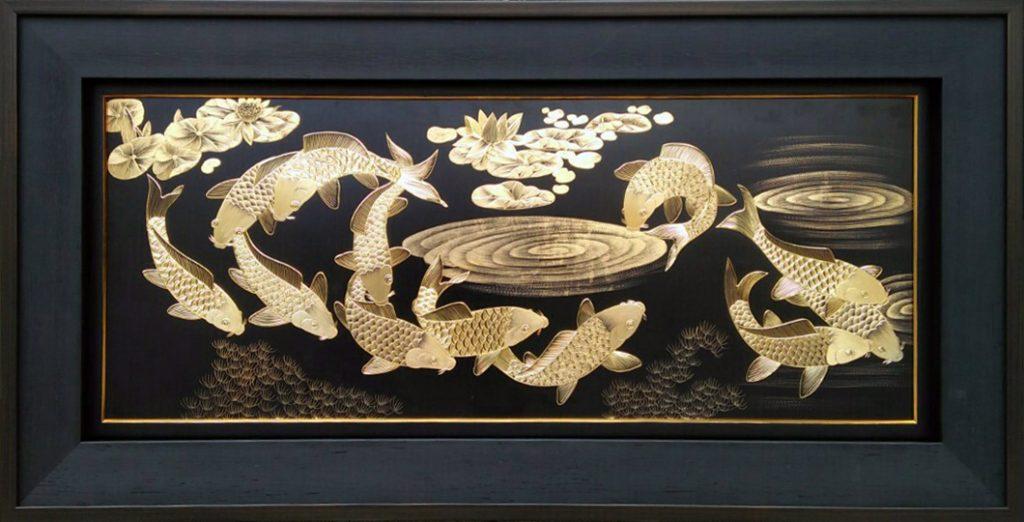 Kim Ngọc Mãn Đường ( 62×122 cm)