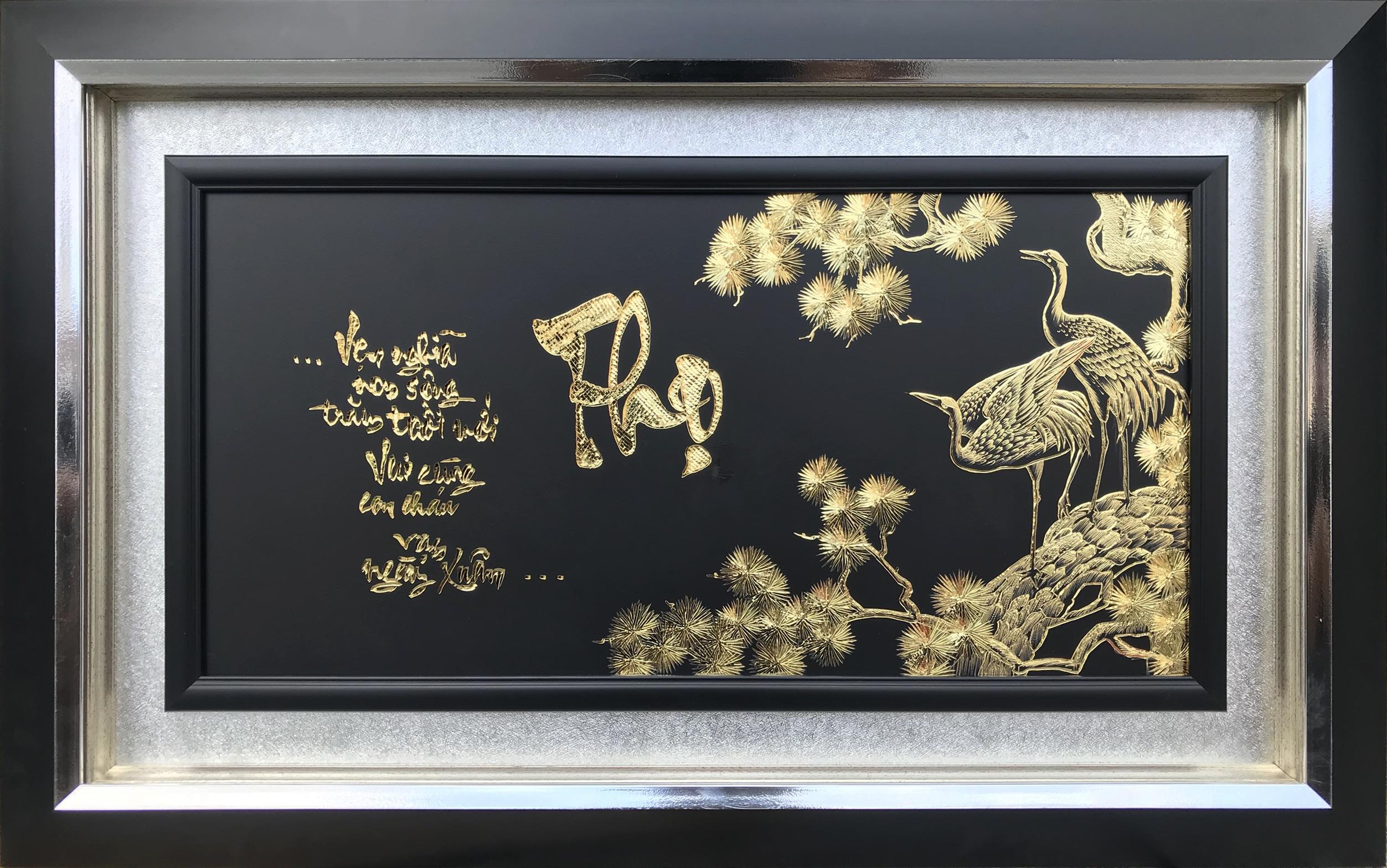 Top 3 bức tranh đồng mạ vàng thích hợp để làm quà tặng đối tác