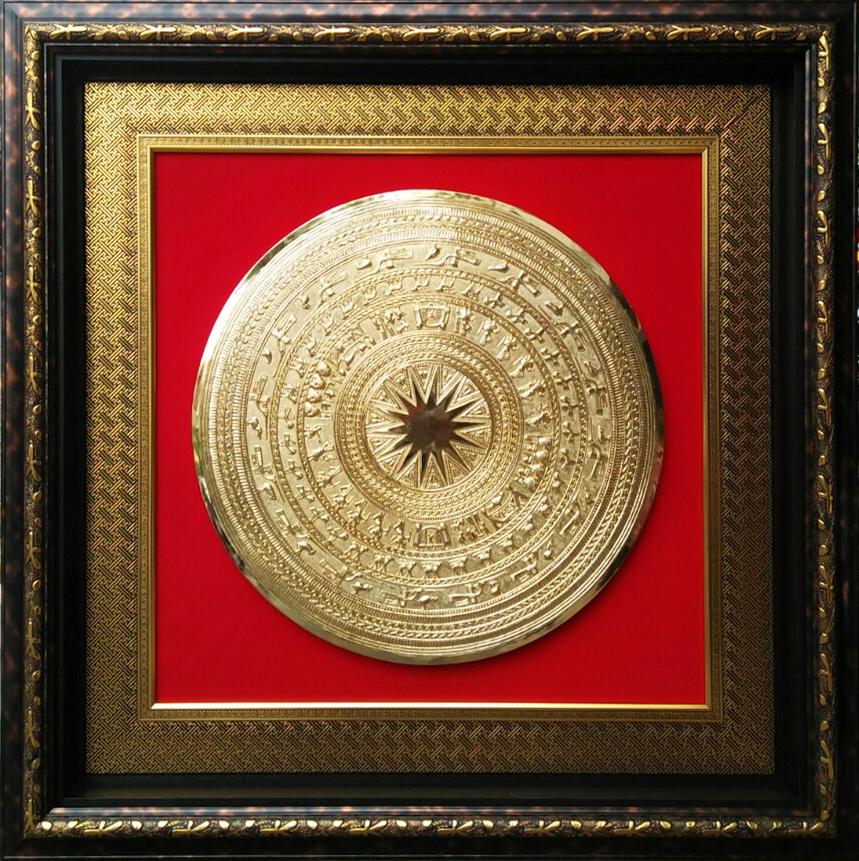 Mặt trống đồng (140×140 cm)