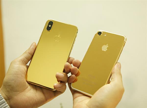iPhone X Mạ Vàng 24K: Sang Trọng Và Đẳng Cấp