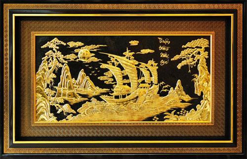 Thuận buồm xuôi gió (80×120 cm)