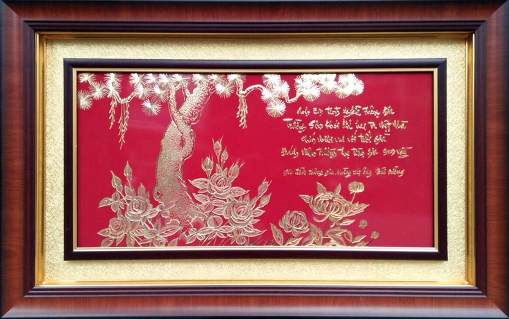 Tranh mừng Thông gia (51x81cm)