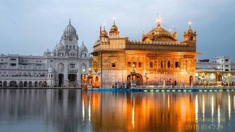 Đền Harmandir Sahib (Punjab, Ấn Độ)