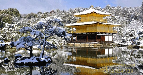 Chùa Kim Các Tự (Kyoto, Nhật Bản)
