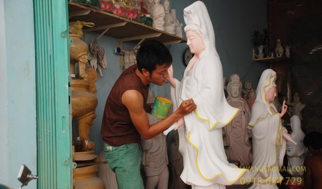 làng nghề làm tượng Phật