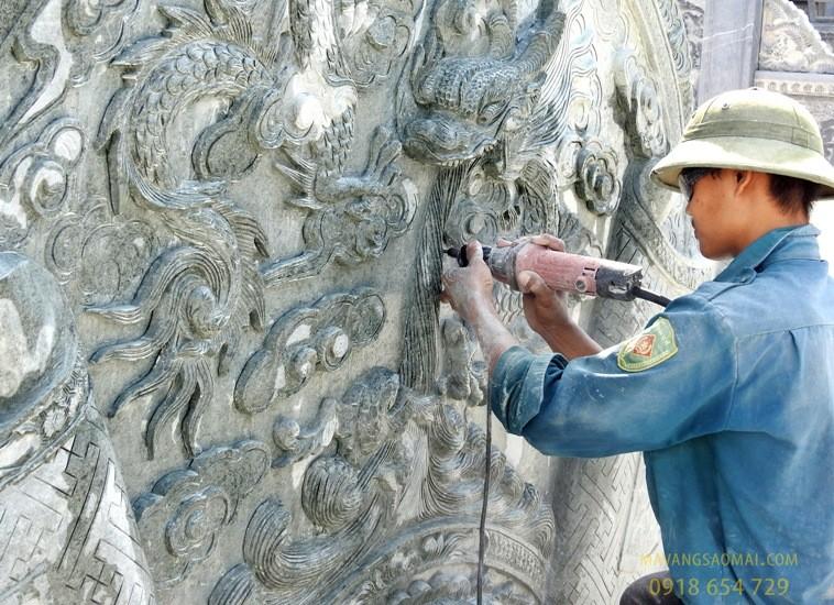 Chạm khắc đá Ninh Vân