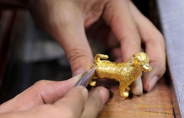 làng chế tác vàng bạc châu khê
