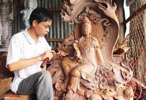 khắc gỗ Mỹ Xuyên