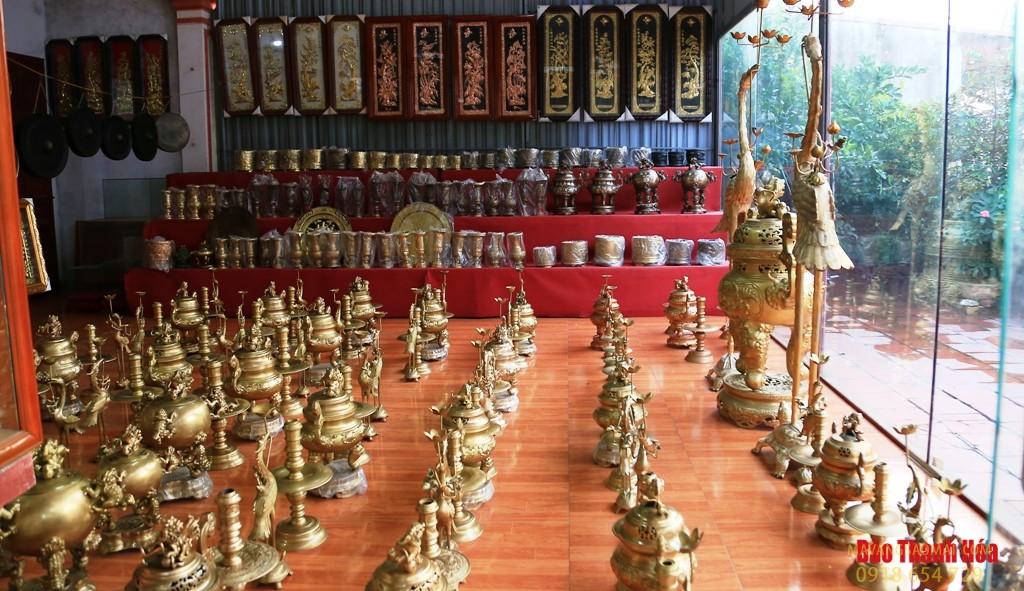 Làng nghề đúc đồng truyền thống ở vùng đất Thanh Hóa