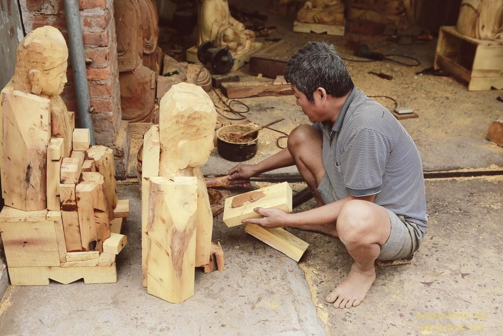 Làng điêu khắc gỗ Dư Dụ - Nơi lưu giữ tinh hoa điêu khắc khắc gỗ