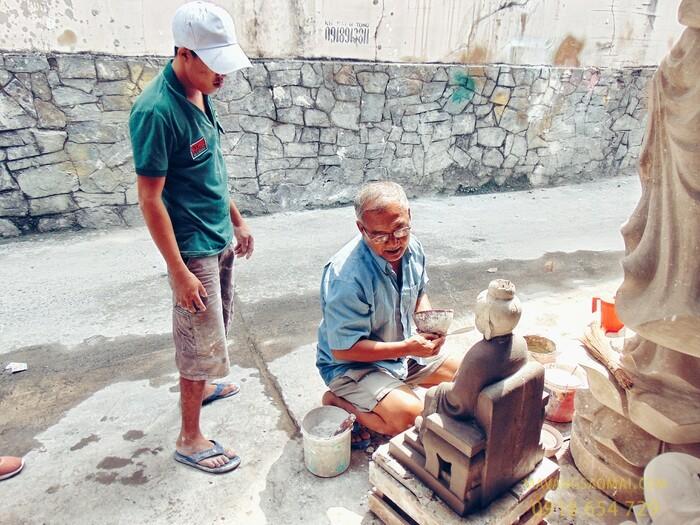 Xóm làm tượng Phật gần 100 tuổi ở Sài Gòn