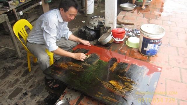 Làng nghề sơn mài Hạ Thái - Làng nghề độc nhất vô nhị tại Hà Nội