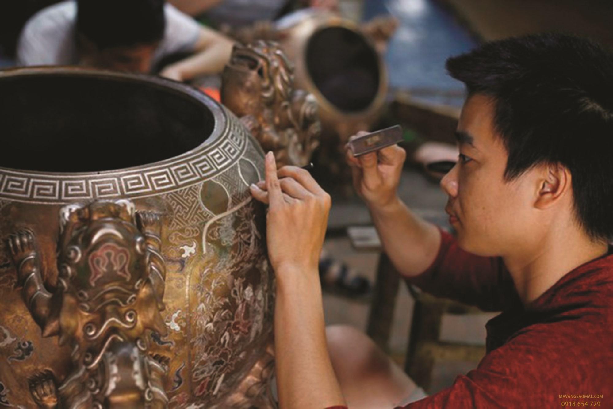 Khám phá những làng nghề đúc đồng nổi tiếng ở Việt Nam