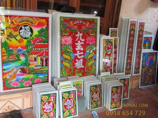 Làng nghề vẽ tranh kiếng ở An Giang - Nơi gìn giữ tinh hoa văn hóa
