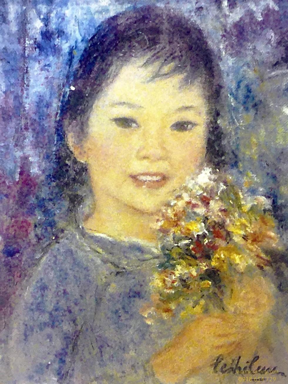 Sự nghiệp sáng tác của nữ họa sĩ đầu tiên của Việt Nam