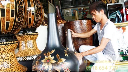 Làng nghề sơn mài truyền thống Cát Đằng - Cái nôi của sơn mài Việt Nam
