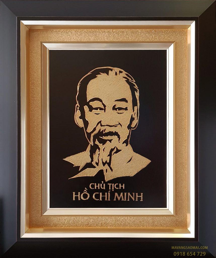 Chủ tịch Hồ Chí Minh (52×62 cm)