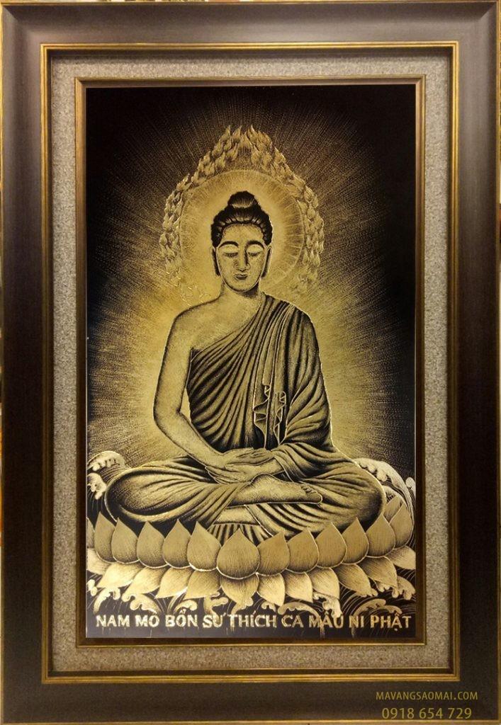 Phật Thích Ca Mâu Ni (84×104 cm)