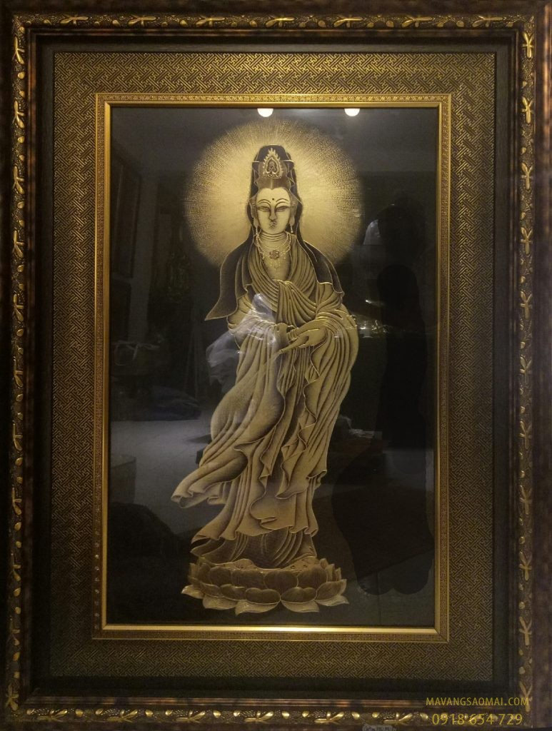 Phật Bà Quan Âm (100×130 cm)