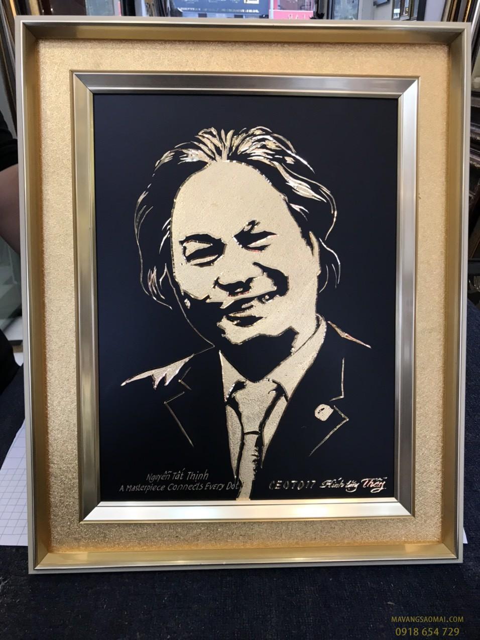 Bức chân dung mạ vàng của Chuyên gia kinh tế Nguyễn Tất Thịnh