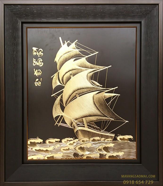 Thuận Buồm Xuôi Gió  (80x90cm)