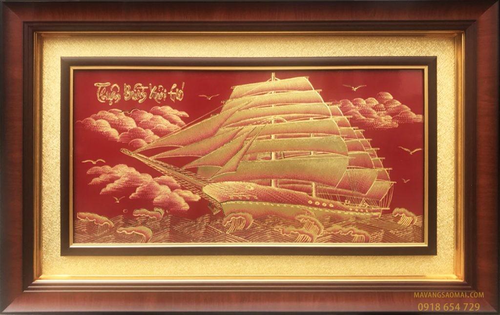 Thuận buồm xuôi gió (51×81 cm)