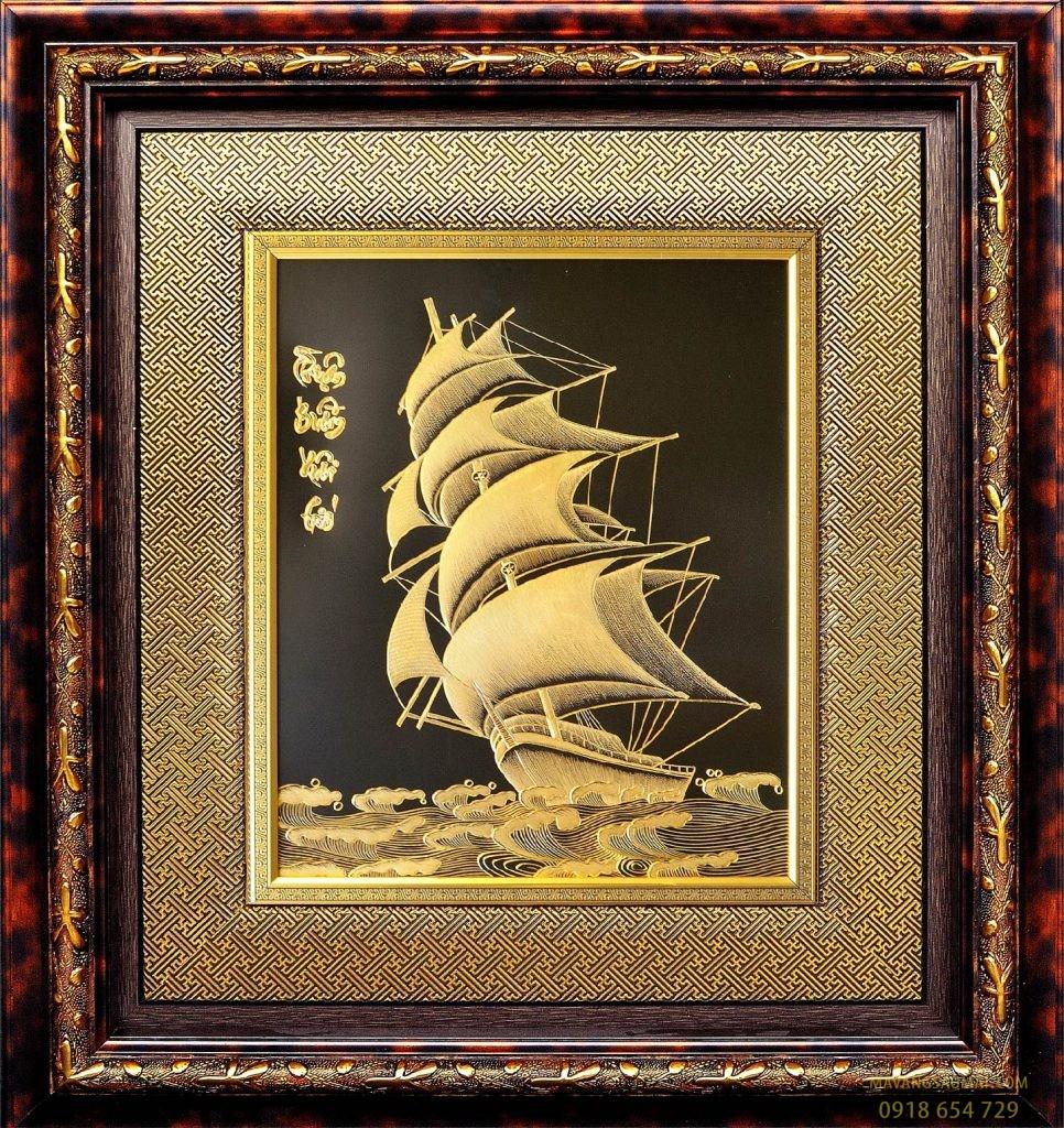 Thuận Buồm Xuôi Gió  (90×100 cm)