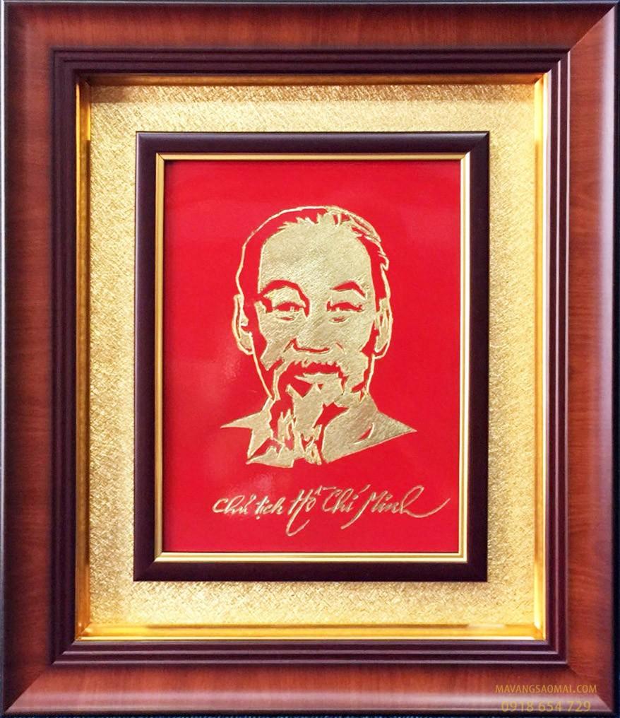 Chủ tịch Hồ Chí Minh (41×51 cm)