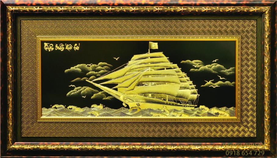 Thuận buồm xuôi gió (80×140 cm)