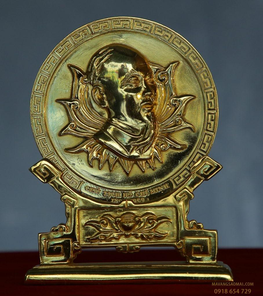 Tượng phù điêu Bác hồ (17 cm)