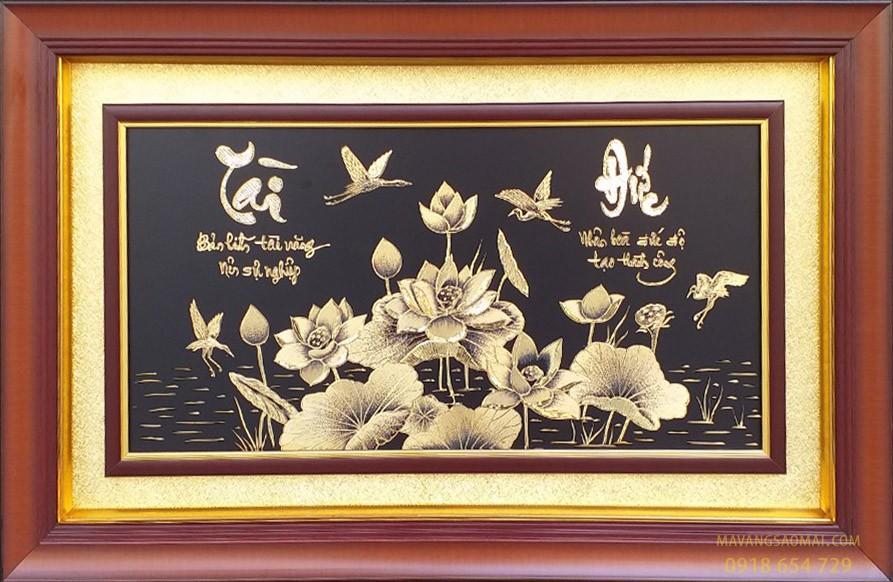 Sen – tài đức (51×81 cm)