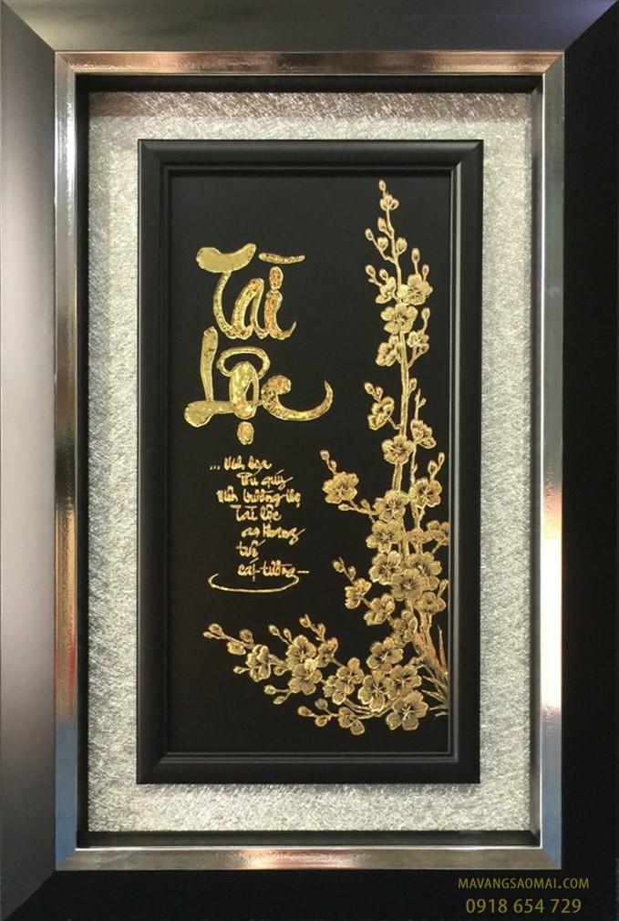 Tài lộc (51×81 cm)