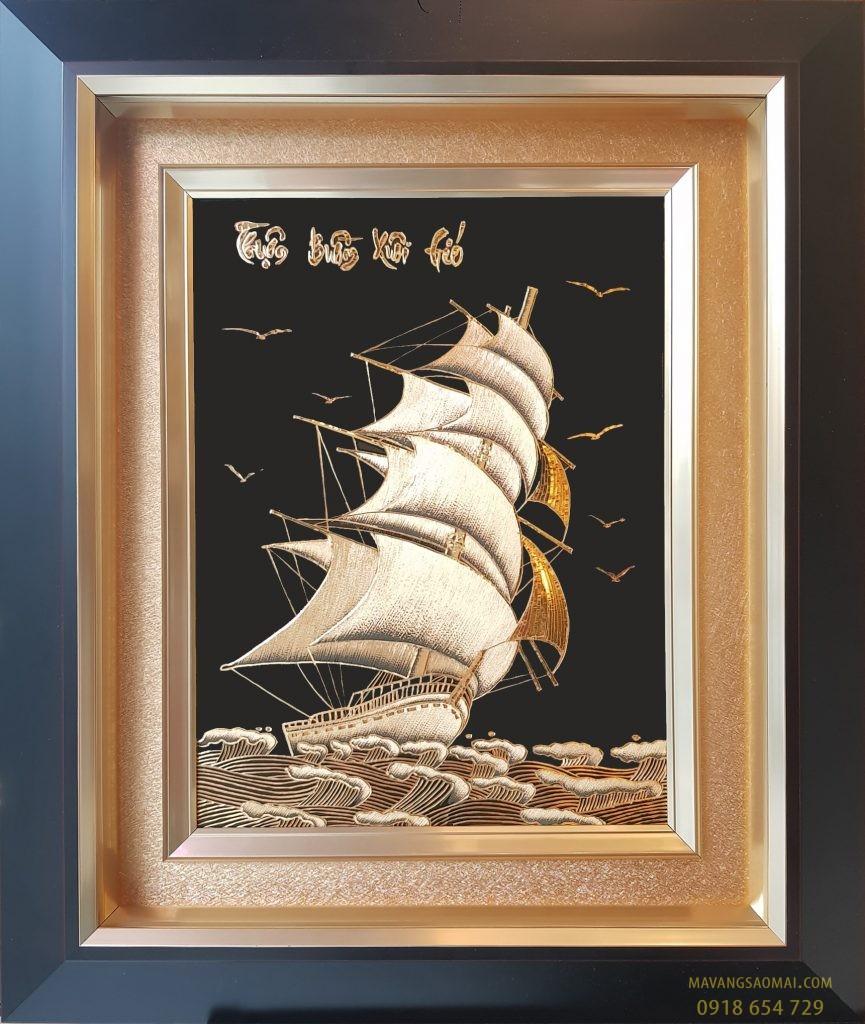 Thuận buồm xuôi gió (61×71 cm)